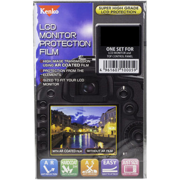 Kenko LCD Monitor Protection Film for the Sony A7 II, A7R II, A7S II, or A9 Camera