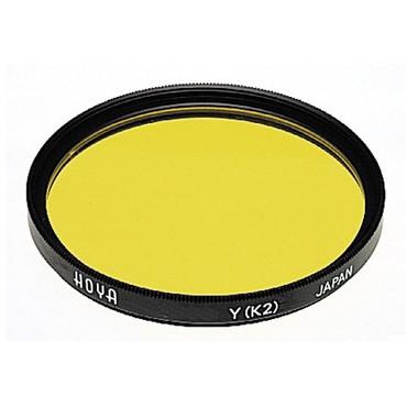Hoya 82mm Yellow #K2 (HMC) Multi-Coated Glass Filter for Black & White Film