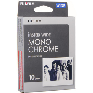 Fujifilminstax Wide Monochrome Film 1-Pack