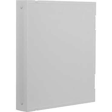 Archival Safe-T-Binder with Rings, White