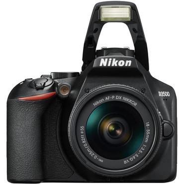 Nikon D3500 DX DSLR Camera with 18-55mm Lens