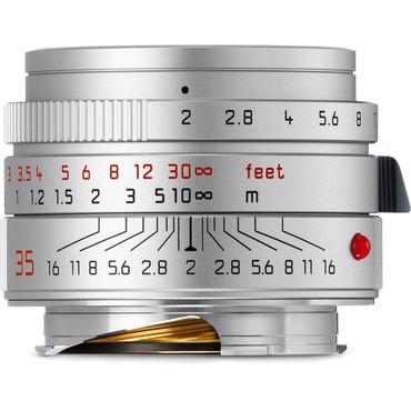 Leica Summicron-M 35mm f/2 ASPH Lens (Silver)