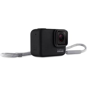 GoPro Sleeve + Lanyard (Black)