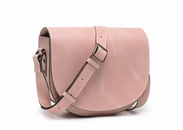 ONA Savannah II Leather Camera and Everyday Crossbody Bag (Desert Rose)