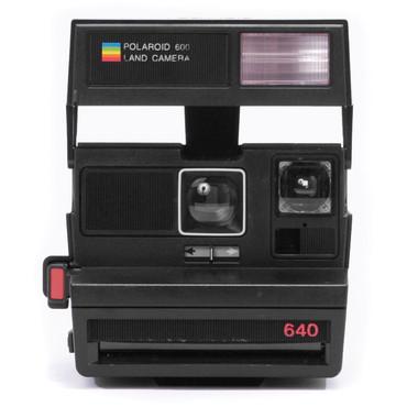 Polaroid Originals Sun 640 Instant Film Camera Black