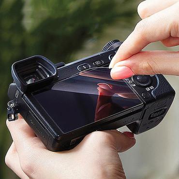 Crystal Touch Screen Shield - Panasonic DCG9, GX85, GX80, GX7MKII, G85, LX15, LX10
