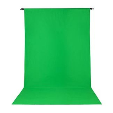 Promaster Wrinkle Resistant Backdrop 10'x12' - Chroma-key Green