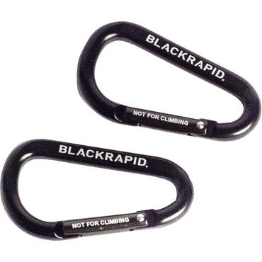 BlackRapid Carabiners (Set of 2, Black)