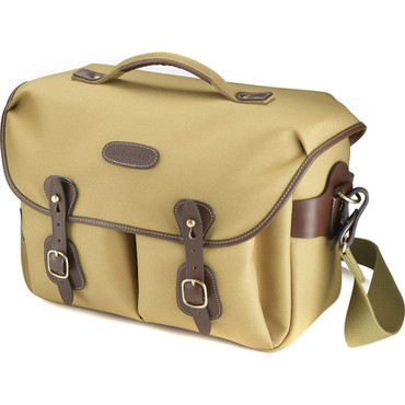 Billingham Hadley One Camera Bag (Khaki FibreNyte with Chocolate Leather)