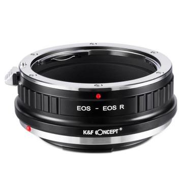 K&F Canon EF Lenses to Canon EOS R Mount Camera Adapter (Manual Focus)