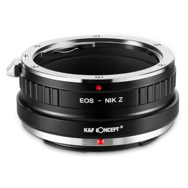 K&F Canon EF Lenses to Nikon Z Mount Camera Adapter (Manual Focus)
