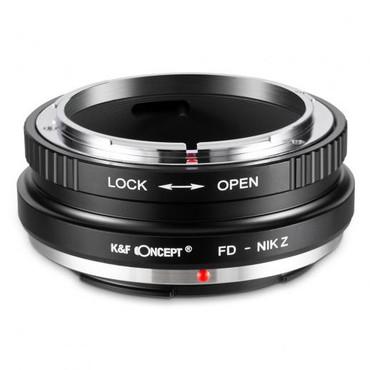 K&F Canon FD Lenses to Nikon Z Mount Camera Adapter (Manual Focus)