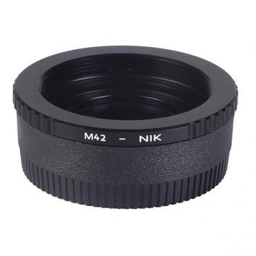 K&F M42 Lenses to Nikon Camera Mount Adapter (Manual Focus)