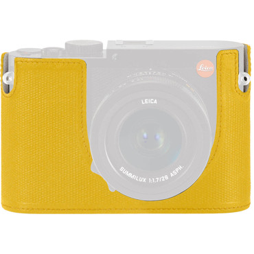 Leica Protector for Q Typ 116 Half Case (Yellow, Leather)