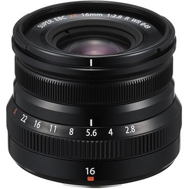 Fujifilm XF 16mm f/2.8 R WR (Black)