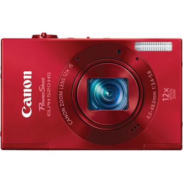 Powershot ELPH 520 HS Digital Camera (Red)