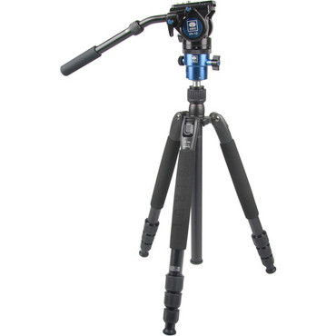Sirui VHD-2004 Photo/Video Tripod with VH-10 Fluid Ball Head