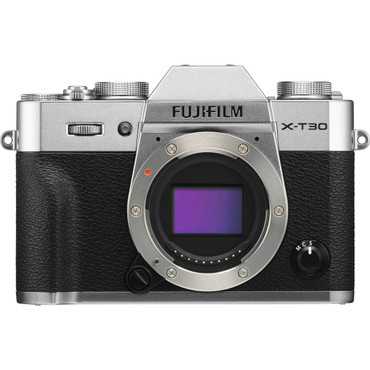 FUJIFILM X-T30 Mirrorless Digital Camera with 18-55mm Lens (Silver)