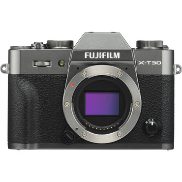 FUJIFILM X-T30 Mirrorless Digital Camera with 18-55mm Lens (Charcoal Silver)