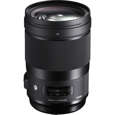 Sigma 40mm f/1.4 DG HSM Art Lens for Canon EF