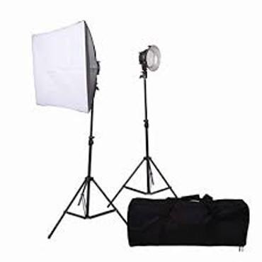 Promaster VL380 2-Light Portable LED Studio Kit