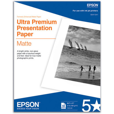 """Ultra Premium Presentation Paper For 8.5X11"""" Matte"""
