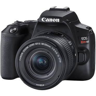 Canon EOS SL3 DSLR Camera with 18-55mm Lens (Black)