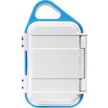 Pelican G10 Personal Utility Go Case (White/Aqua)