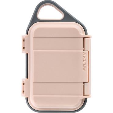 Pelican G10 Personal Utility Go Case (Blush/Gray)