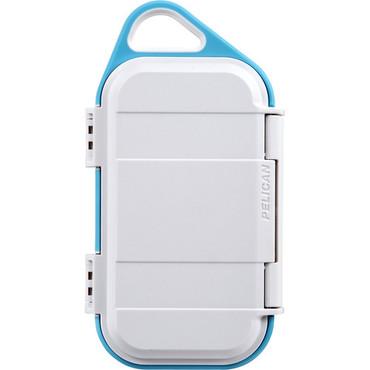 Pelican G40 Personal Utility Go Case (White/Agua)