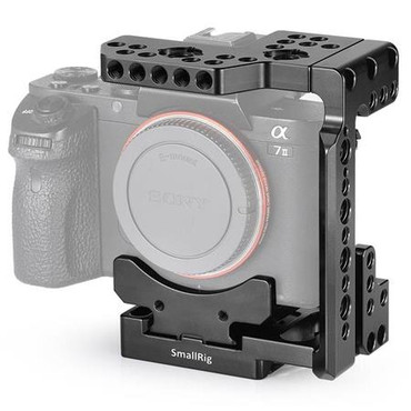SmallRig Arca QR Half Cage for Sony A7R III/A7 III/A7 II/A7R II/A7S II