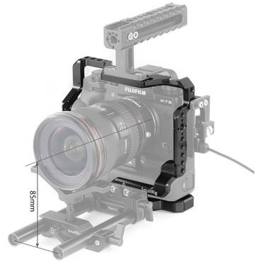 SmallRig L-Bracket Half Cage for Fujifilm X-T2/X-T3 Camera with Battery Grip