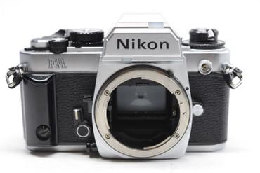 Pre-owned Nikon FA 35mm Film Camera Body (Silver)