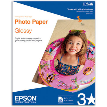 "Epson 8.5X11"" Glossy"