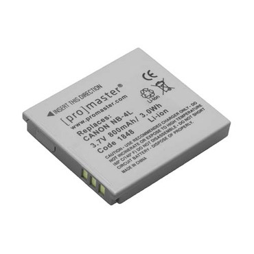 Promaster Canon NB-4L Li-ion Battery