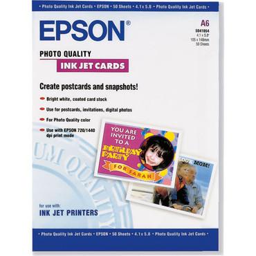 """Photo Quality Inkjet Cards - 4.1X5.8"""" (A6)"""