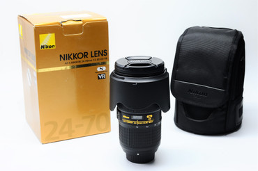 Pre-Owned - Nikon AF-S 24-70mm f/2.8E ED VR Nano