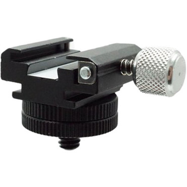 """Dot Line 360° Positional Locking Accessory Shoe with 1/4""""-20 Male Mount"""