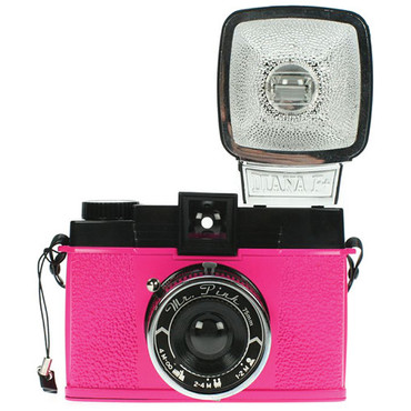 Lomography Diana F+ Medium Format Camera (Mr. Pink)