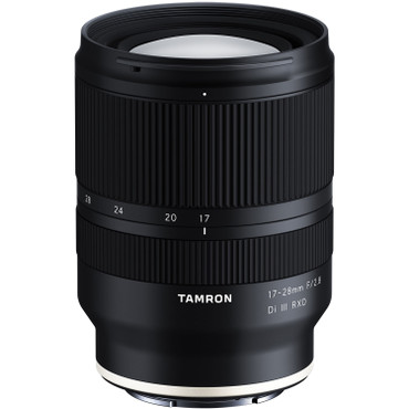 Tamron 17-28mm f/2.8 Di III RXD Lens for Sony E (FREE 67mm CPL filter Value $139 end Jan 3,2021)