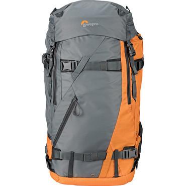 Lowepro Powder Backpack 500 AW (Gray and Orange)