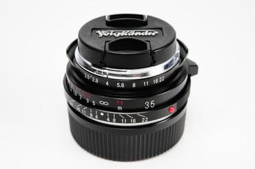 Pre-Owned Voigtlander Color-Skopar for Leica M 35Mm F/2.5  MC Lens (ACE41593)