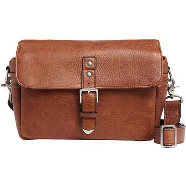 ONA Bowery Camera Bag (Pebbled Leather, Walnut)