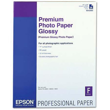 """Premium Glossy Paper(260Gsm)-17X22""""-25Shts"""