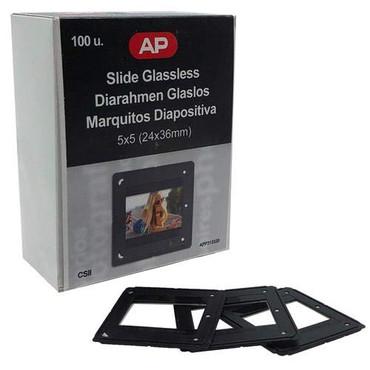 DLC DL-3701 Slide Mounts, 100 Pieces 5X5 (24X26MM)