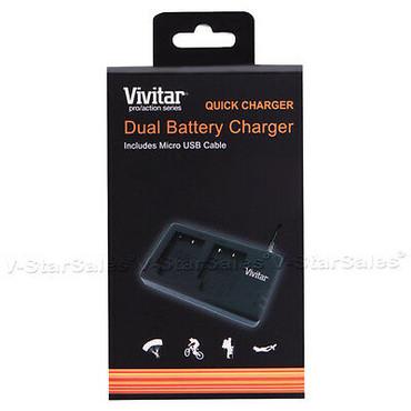 Vivitar Dual Battery Charger for Nikon EN-EL15