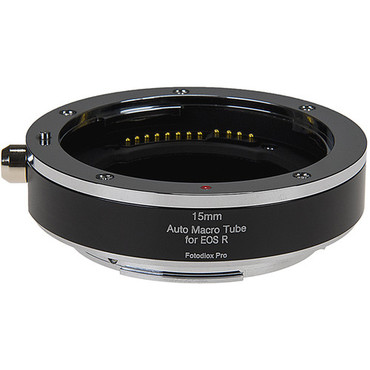FotodioX Pro Automatic Macro Extension Tube 15mm Section for Canon RF Mount
