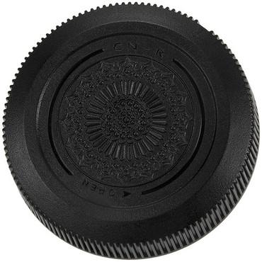 FotodioX Rear Lens Cap for Canon RF Mount Lenses (Black)
