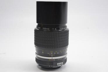 Pre-Owned - Nikon 200MM F/4 AI  Manual Focus