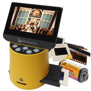 Wolverine Data F2D Titan 8-in-1 High-Definition Film to Digital Converter
